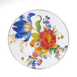 Mackenzie-Childs Flower Market Platter White