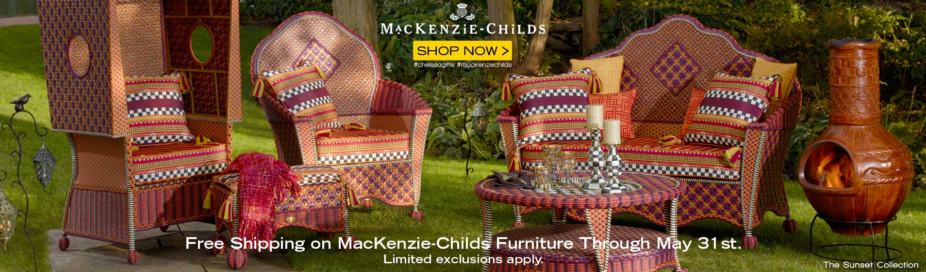 MacKenzie-Childs Outdoor