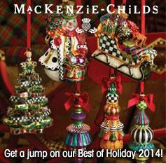 MacKenzie-Childs Ornaments