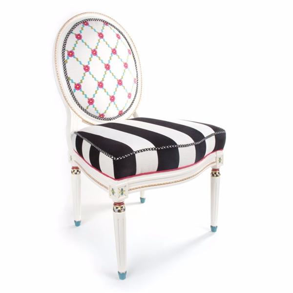 Mackenzie Childs Merrifield Side Chair 247 7008