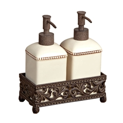 The GG Collection Barcelona Set of Two Soap/Lotion Dispensers