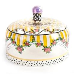 MacKenzie-ChildsStriped Awning Cake Dome