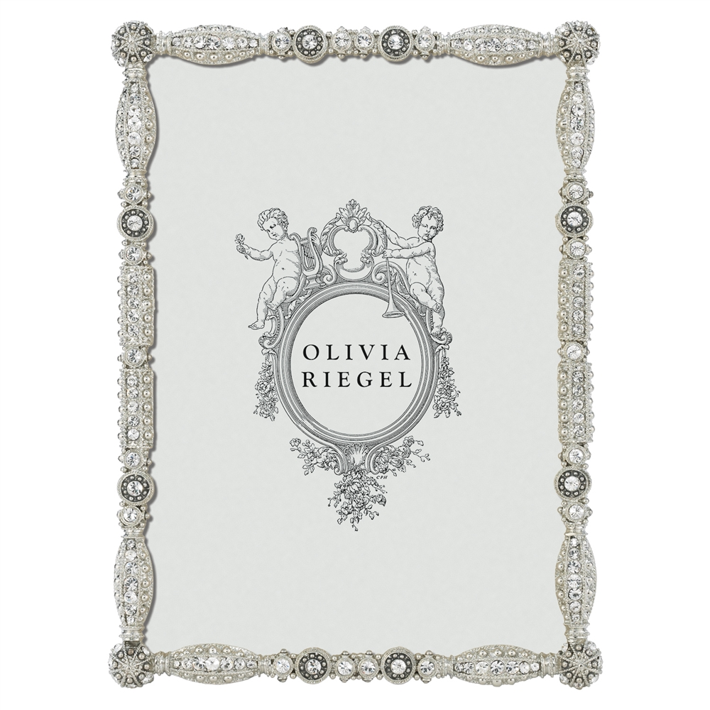 Olivia Riegel Asbury Swarovski Crystal 5x7 Photo Frame