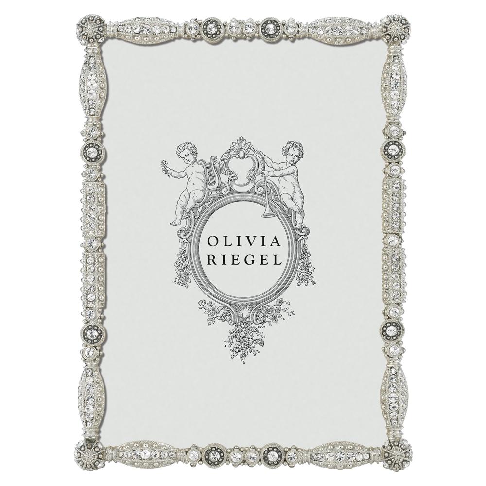 Olivia riegel asbury swarovski crystal 5x7 photo frame olivia riegel asbury 5x7 crystallized frame jeuxipadfo Images
